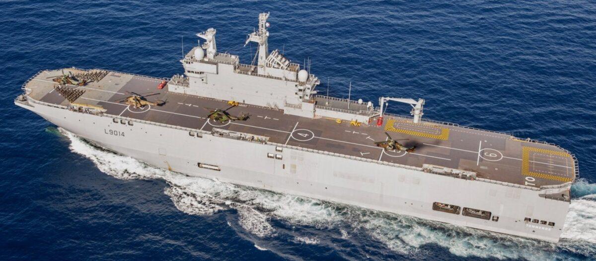 Γαλλική αεροναυτική αρμάδα ήρθε σε βοήθεια της Ελλάδας και της Κύπρου