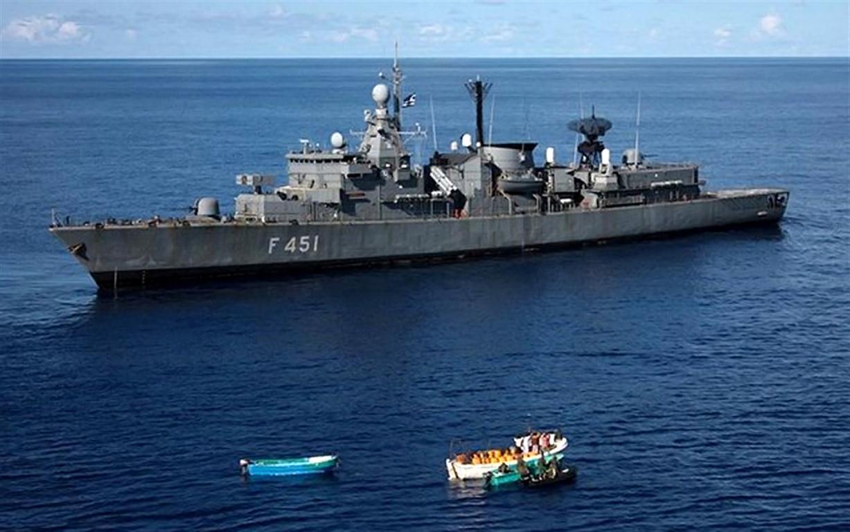 Φρεγάτα ΛΗΜΝΟΣ: Πληροφορίες ότι «ακούμπησε» με τουρκικό πλοίο