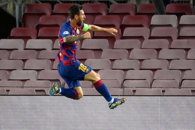 Μπαρτσελόνα – Νάπολι 3-1 : «Εξωγήινος» Μέσι έστειλε τους Καταλανούς στο Final 8!