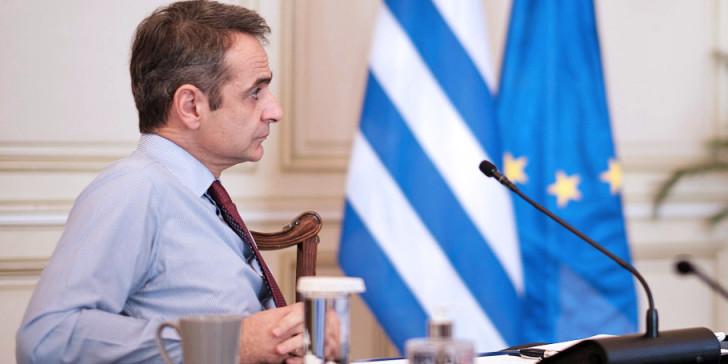 Μητσοτάκης στη σύσκεψη Μακρόν: Ο Λίβανος να οδηγήσει τον λαό στην ευημερία