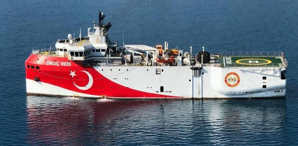 Oruc Reis: Το τουρκικό πλοίο μπήκε στην ελληνική υφαλοκρηπίδα