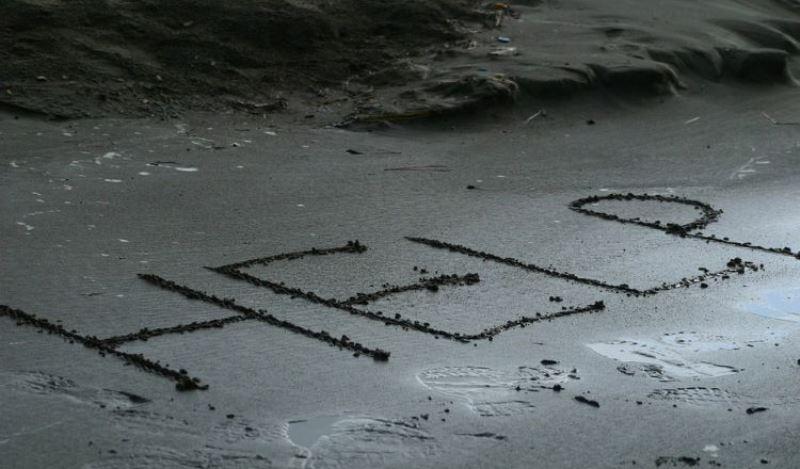 Ναυαγοί στον Ειρηνικό σώθηκαν από SOS που έγραψαν στην άμμο