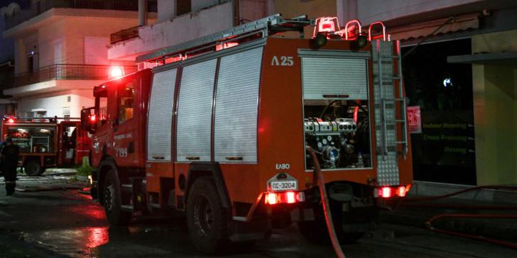 Υπό μερικό έλεγχο η φωτιά στο Γεράκι Ηρακλείου