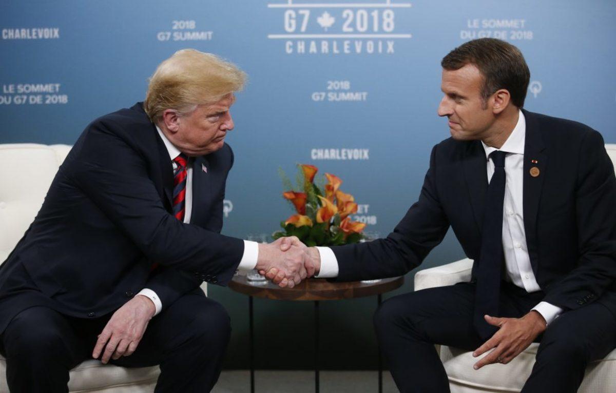 Επικοινωνία Μακρόν με Τραμπ: Κοινό το ενδιαφέρον μας για την ειρήνη στην Ανατολική Μεσόγειο