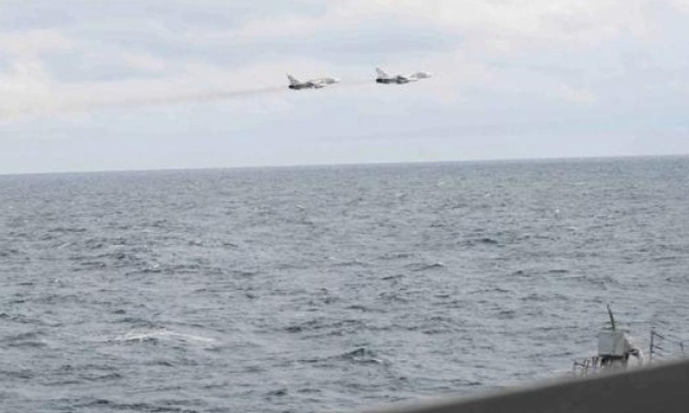 Ένταση στη Μαύρη θάλασσα: Ρωσικά SU-27 αναχαίτισαν RC-135 των ΗΠΑ