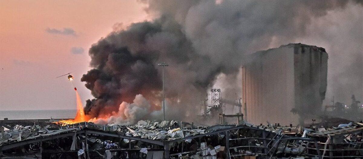Σκηνές «Αποκάλυψης» στην Βηρυτό από τρομακτική έκρηξη ισχύος πυρηνικού όπλου (βίντεο, upd2)