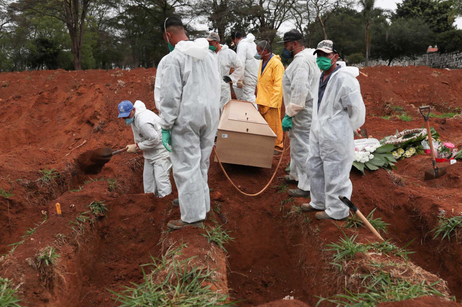 Βραζιλία, χώρα θανάτου! 1.437 νεκροί από κορονοϊό το τελευταίο 24ωρο