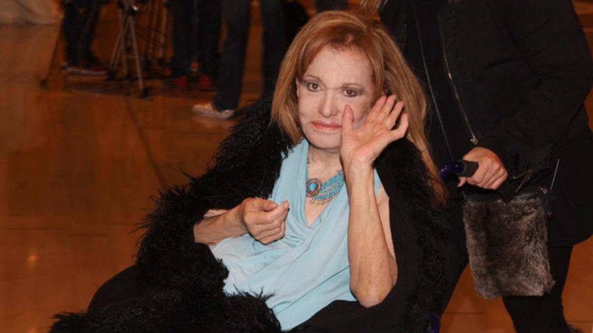 Εσπευσμένα στο νοσοκομείο η Μαίρη Χρονοπούλου