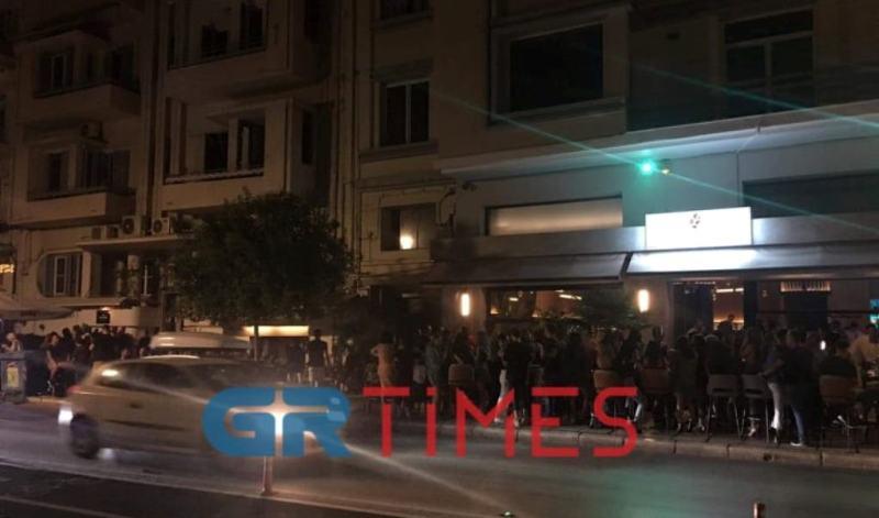 Θεσσαλονίκη: Διασκέδαση χωρίς… αποστάσεις μέχρι τα μεσάνυχτα