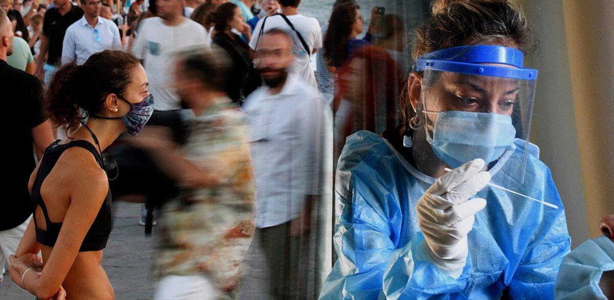 Κορονοϊός: Οι νέοι αγνοούν τα μέτρα – Μάσκες και στους εξωτερικούς χώρους