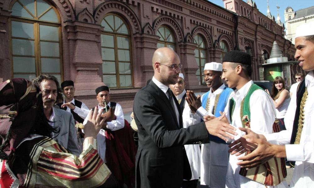 Εσπευσμένα στη Μόσχα ο γιος του Καντάφι – Οργή Άγκυρας για Σάρατζ