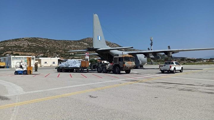 Οι Ένοπλες Δυνάμεις στήνουν νέο καταυλισμό στη Μυτιλήνη - ΦΩΤΟ