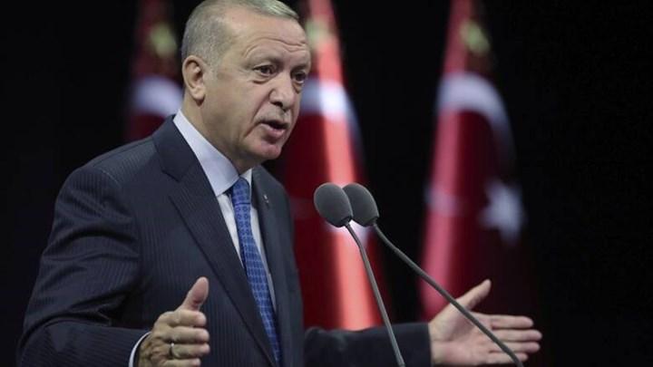 Ερντογάν: Θα συνεχίσουμε να υπερασπιζόμαστε μέχρι τέλους κάθε σταγόνα ύδατος και γης της χώρας