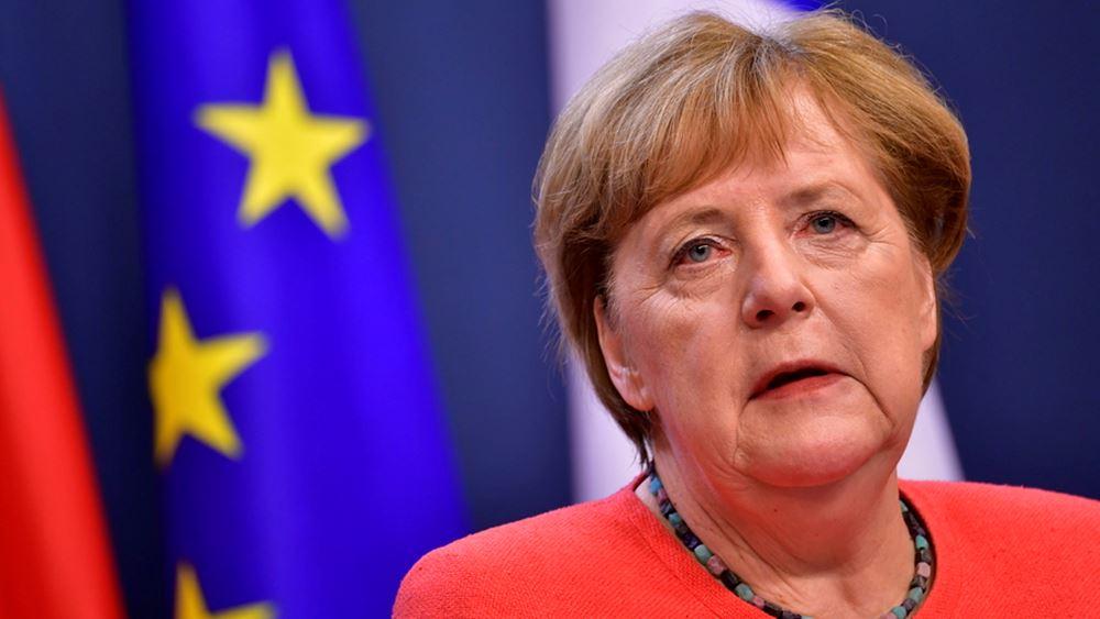 Η Μέρκελ ανακοίνωσε μια γαλλογερμανική πρωτοβουλία για την υποδοχή ανήλικων μεταναστών από τη Μόρια