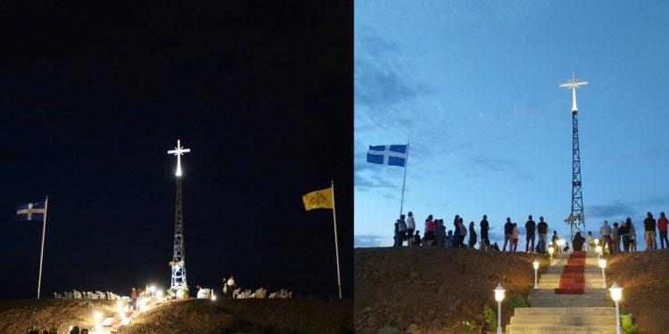 Έξαλλος ο Ερντογάν με τον Σταυρό στη Νέα Βύσσα Έβρου