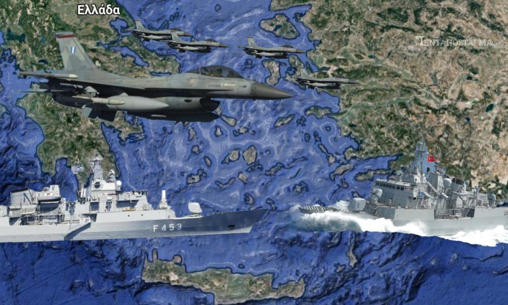 Τουρκική παράνοια: «Έλληνες και Γάλλοι περιπολούν το Καστελλόριζο – Γεμάτο κομάντο το νησί»