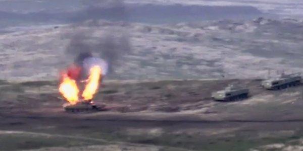 Ναγκόρνο Καραμπάχ: Τρομακτικά βίντεο από τις συγκρούσεις και στη μέση ο γαμπρός του Ερντογάν