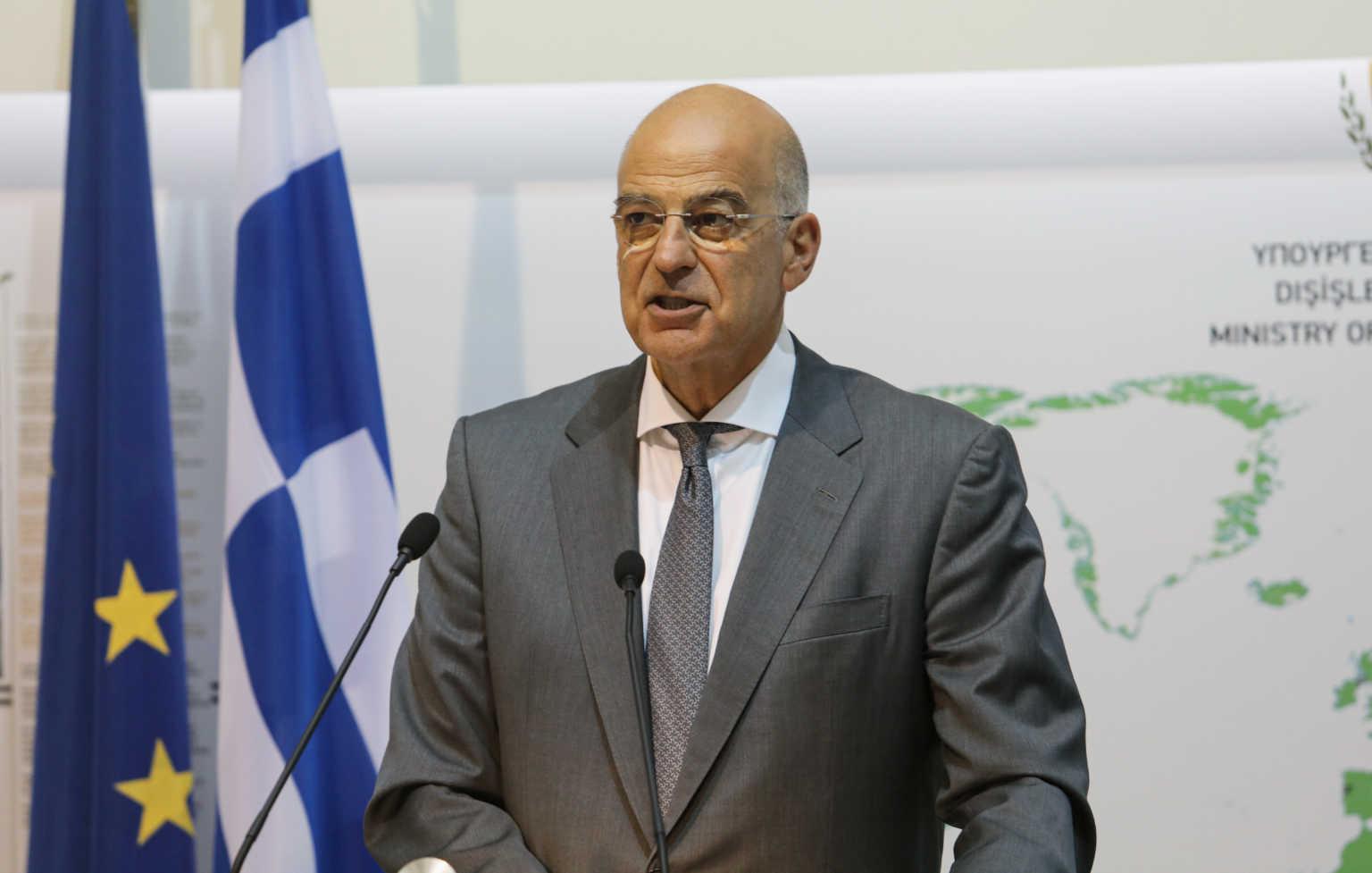 Δένδιας: Η Ελλάδα δεν διαπραγματεύεται με την Τουρκία – Παρέδωσα επιστολή του πρωθυπουργού στον γ.γ. του ΟΗΕ