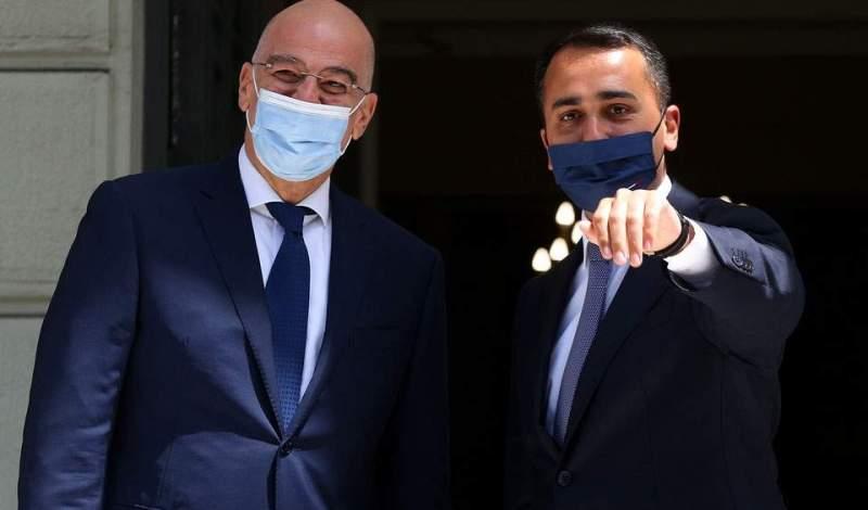 Ντι Μάιο: Εκφράσαμε την συμπαράστασή μας προς την Ελλάδα και την Κύπρο