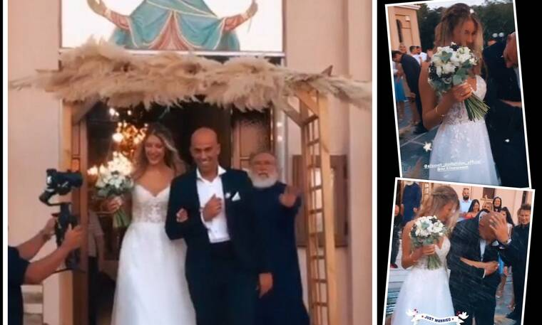 Survivor: Παντρεύτηκε η Ελισάβετ Δοβλιατίδου! Οι πρώτες φωτό από την εκκλησία!