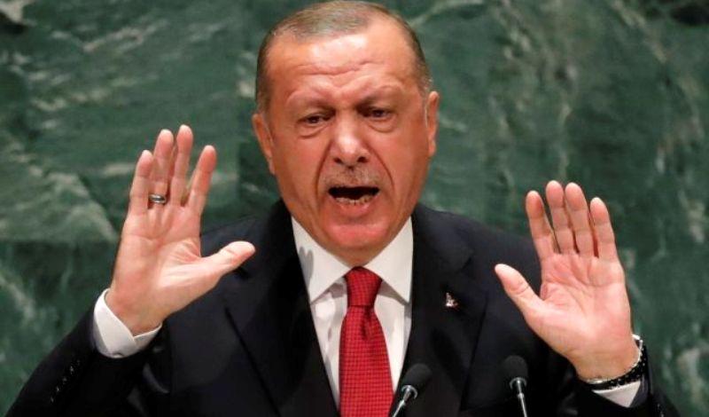 Έξαλλος ο Ερντογάν: Όλοι στηρίζουν την Ελλάδα και την Κύπρο- Δεν έχει δουλειά η Ευρώπη στην ανατολική Μεσόγειο