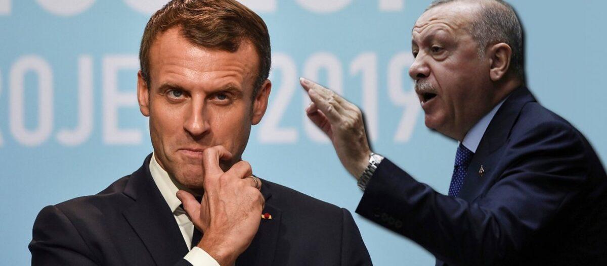 Μία ώρα συνομίλησαν Ερντογάν και Μακρόν: Τι ανακοίνωσε η γαλλική προεδρία