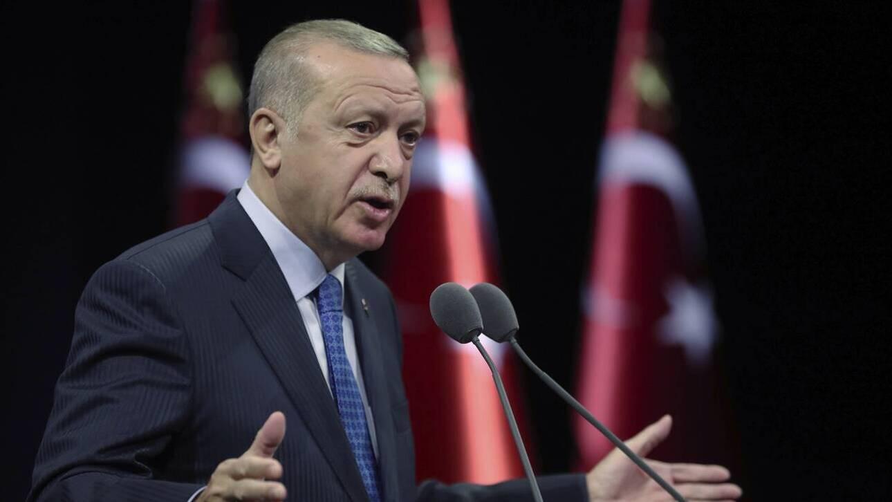 Ερντογάν: Μεγαλοϊδεατισμοί και προσβολές κατά της Ελλάδας
