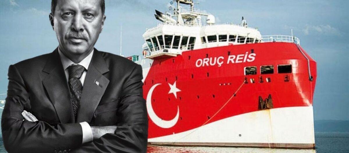 Ο Ερντογάν ως άλλος «Ιανός»: «Ή παίρνω αυτό που θέλω ή το Orus Reis θα ξαναβγεί» – Στην Αθήνα περιμένουν… κυρώσεις
