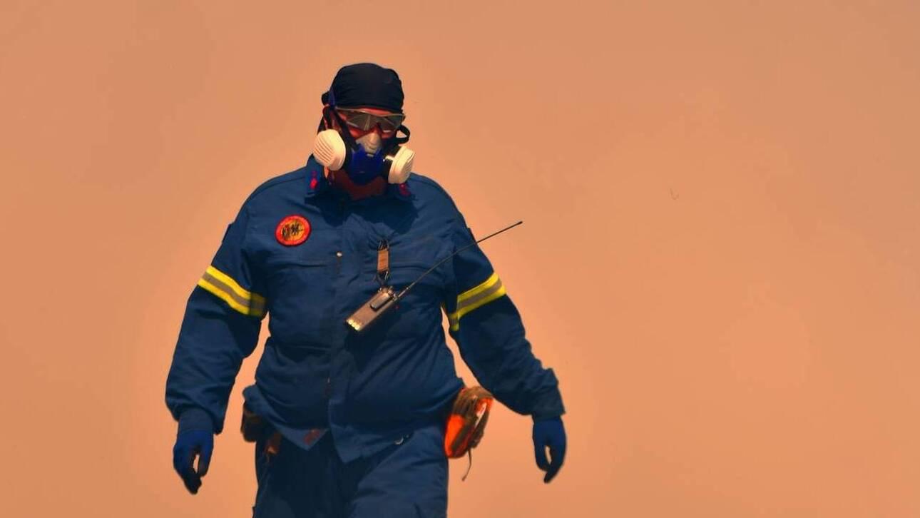 Μεγάλη φωτιά στον Έβρο: Πύρινο μέτωπο τριών χιλιομέτρων σε δύσβατη περιοχή