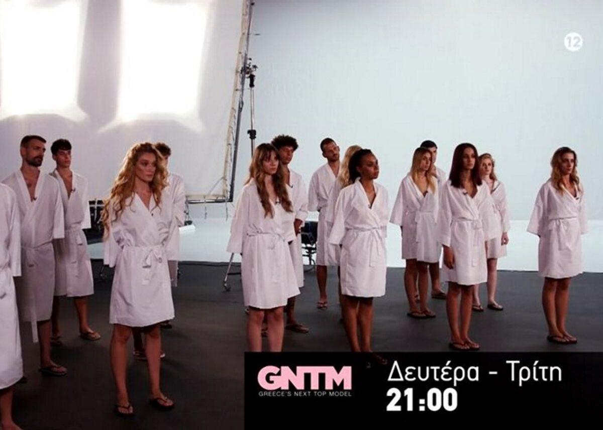 GNTM: Με γυμνή φωτογράφιση ξεκινάνε τα 20 μοντέλα (video)
