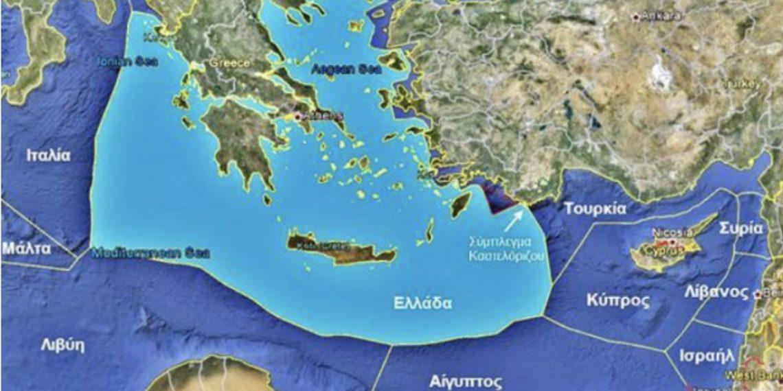 """""""Περίεργη"""" ανάρτηση από την πρεσβεία των ΗΠΑ στην Τουρκία «ακυρώνει» τον «χάρτη της Σεβίλλης»"""