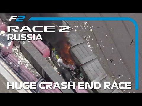 Βίντεο: Η στιγμή που δύο μονοθέσια συγκρούονται σφοδρά σε στροφή σε αγώνα της Formula 2