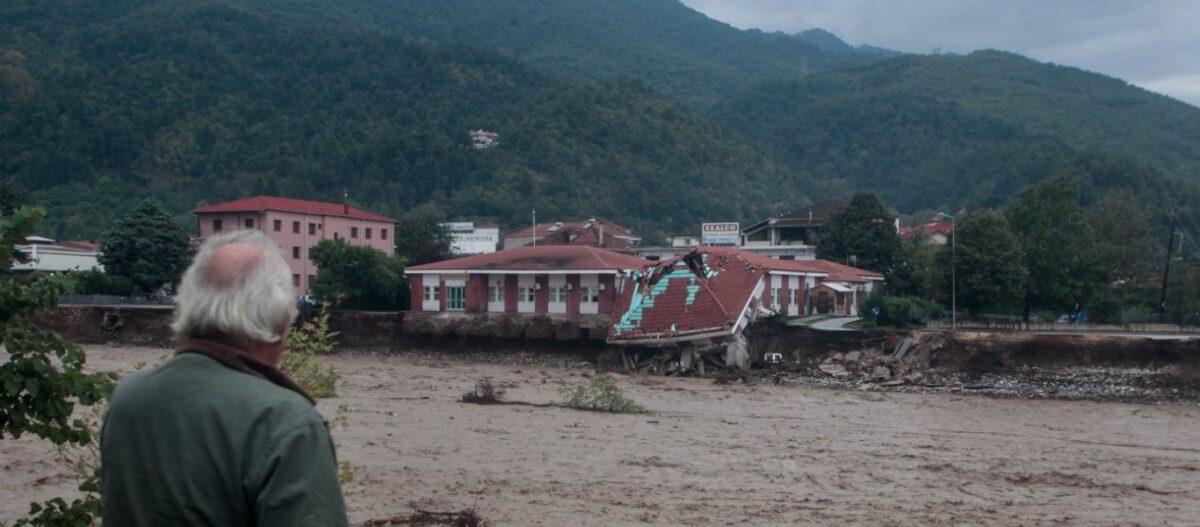 Η Θεσσαλία πνίγηκε χωρίς προειδοποίηση – Καμία σχέση με τον «Ιανό» η καταστροφή