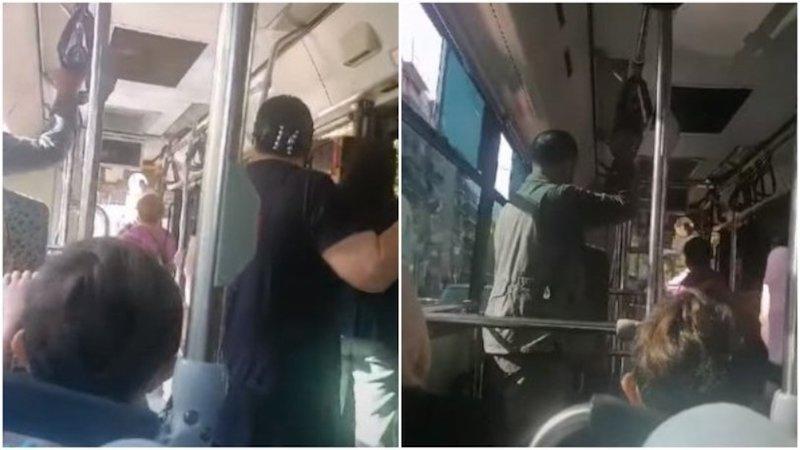Χυδαία επίθεση οδηγού λεωφορείου σε γυναίκα επιβάτη: «Άντε στο διάολο χοντρή πατσαβούρα» (vid)