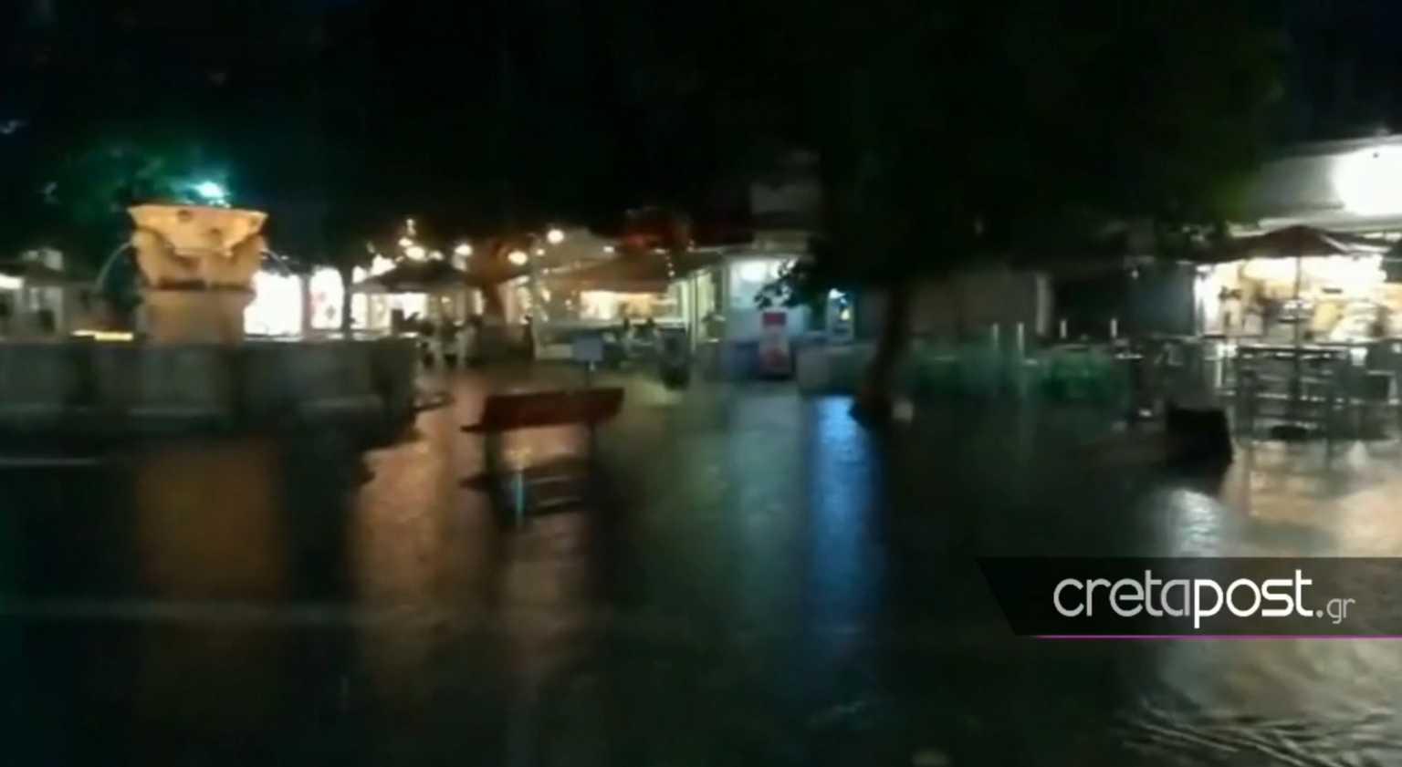 Ιανός: Πλημμύρισαν τα… Λιοντάρια στο Ηράκλειο! Απίστευτες εικόνες