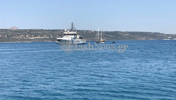 Κινητοποίηση Λιμενικού για ιστιοφόρο με μετανάστες νοτιοδυτικά της Κρήτης
