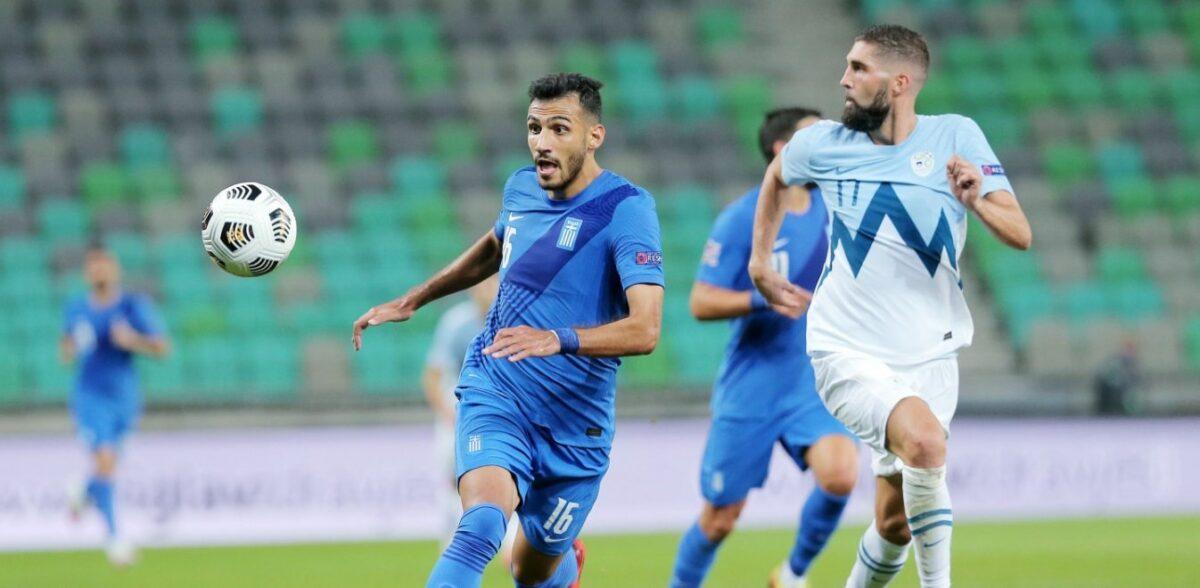 Μέτρια η Εθνική με Σλοβενία αλλά και αήττητη για τέταρτο σερί ματς