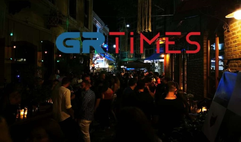 Θεσσαλονίκη: Λουκέτο σε μπαρ στα Λαδάδικα καθώς λειτουργούσε μετά τα μεσάνυχτα