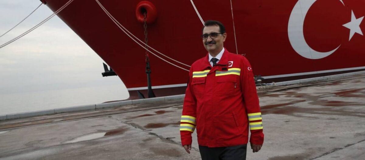 «Εντοπίσαμε μεγάλα κοιτάσματα φυσικού αερίου στην Αν.Μεσόγειο» λέει ο Τούρκος υπουργός Ενέργειας για Καστελόριζο & Κύπρο