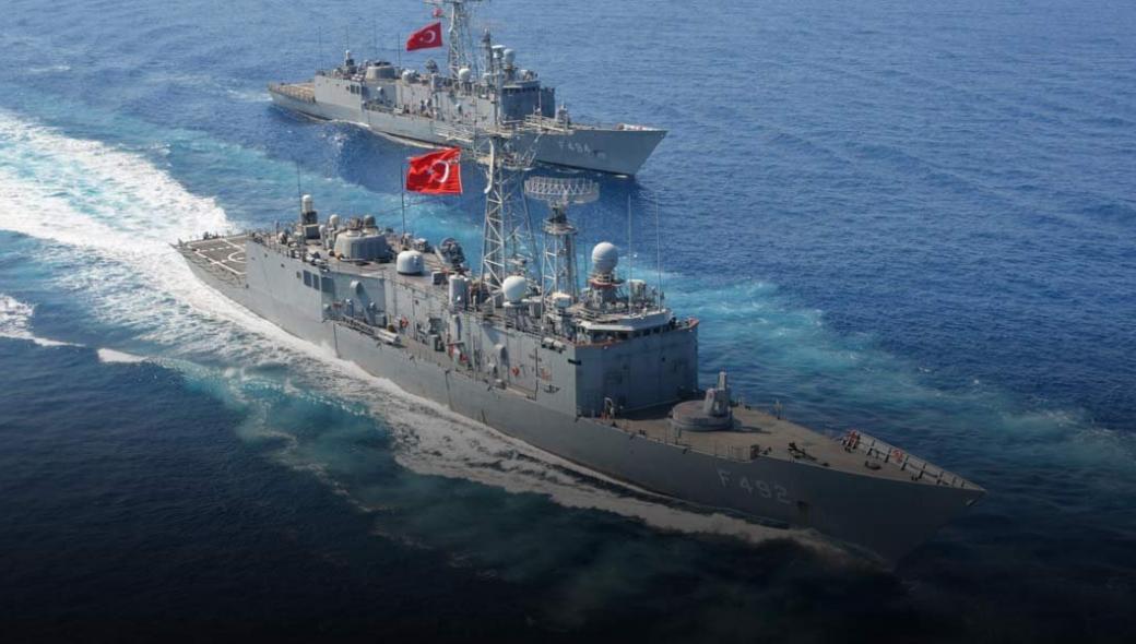 Πυρά από το τουρκικό Ναυτικό μεταξύ Ρόδου και Καστελόριζου