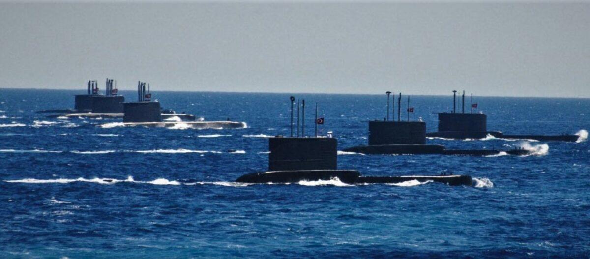 Τουρκικός ψυχολογικός πόλεμος προ έναρξης διαπραγματεύσεων για Αιγαίο: Άσκηση υποβρυχίων με σενάρια αποκλεισμού νησιών