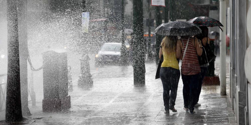 Καιρός: Έρχεται ψυχρό μέτωπο το Σαββατοκύριακο με βροχές, καταιγίδες και χαλάζι