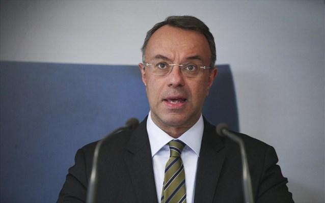 Χρ. Σταϊκούρας: Παραμένει η πρόβλεψη για ύφεση 8% φέτος