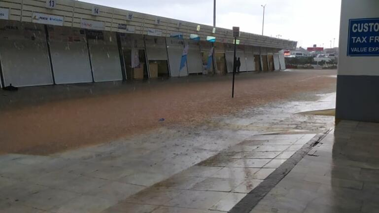 Έκλεισε το αεροδρόμιο Ηρακλείου