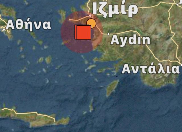 Ισχυρός σεισμός ανοιχτά της Σάμου 6,6 ρίχτερ  Έγινε αισθητός στην Κρήτη!!
