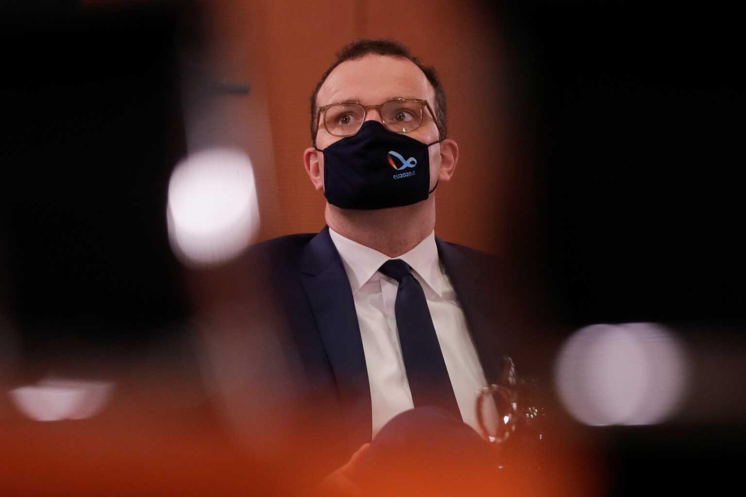 Θετικός στον κορονοϊό ο Γερμανός υπουργός Υγείας – 7.830 νέα κρούσματα στη χώρα