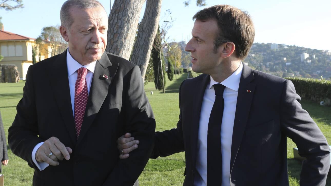 Αντίδραση του Ελιζέ στις ύβρεις Ερντογάν: Ανακαλείται ο πρέσβης της Γαλλίας στην Άγκυρα
