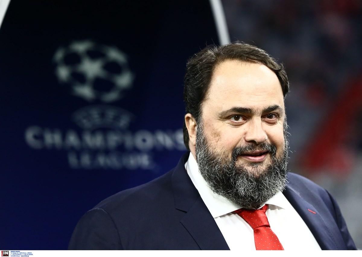 """Ολυμπιακός: """"Τρελά"""" πριμ από Μαρινάκη στους παίκτες για το Champions League"""