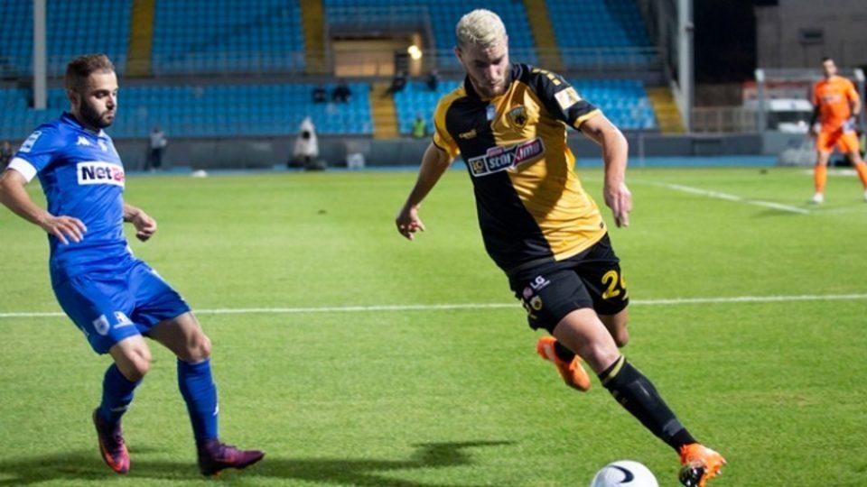 Super League 1: «Απόδραση» με Ανσαριφάρντ από τα Γιάννινα, 1-0 η ΑΕΚ τον ΠΑΣ