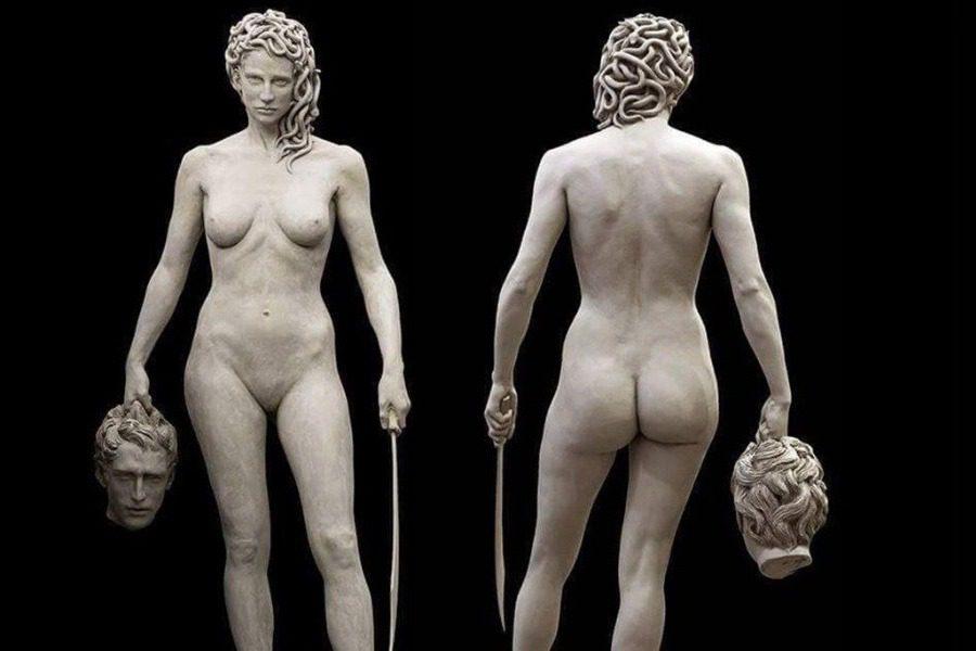 Πως ένα άγαλμα της μυθολογικής Μέδουσας έγινε σύμβολο φεμινισμού